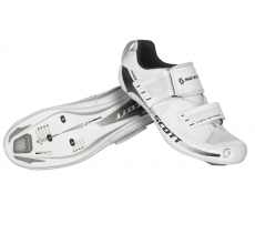 Scott Tri Pro Shoes (White Gloss)