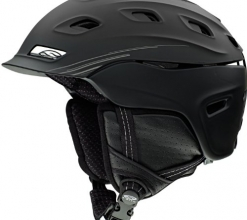 Smith Optics Unisex Adult Vantage Snow Sports Helmet – Matte Black Medium (55-59CM)