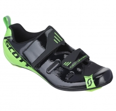 Scott Tri Pro Shoes (Black/Neon Green)